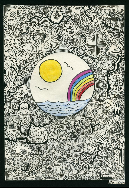 Childhood Pen & Ink (original)