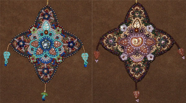 Little Bead Embroidery Projects Prints As Design Challenges Lisa