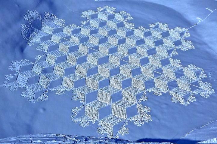 SimonBeck snow quilt