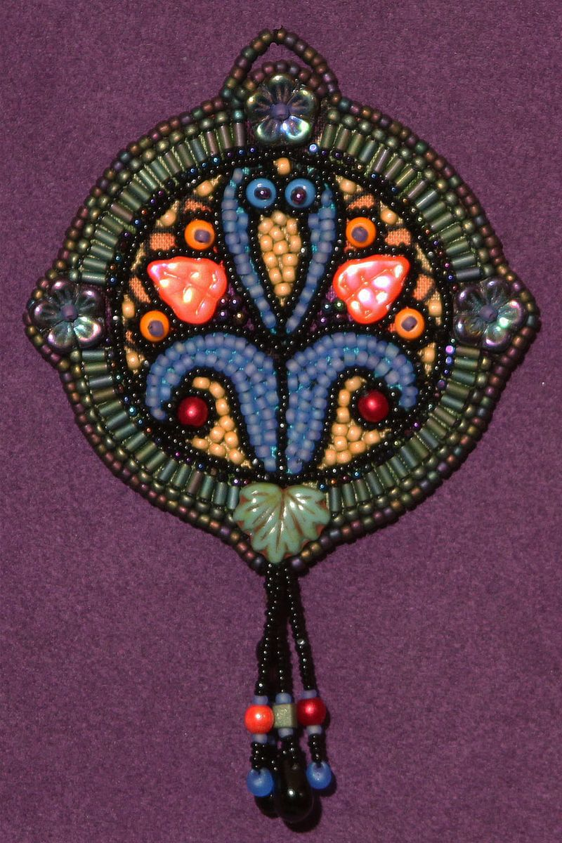 Stained-Glass Medallion