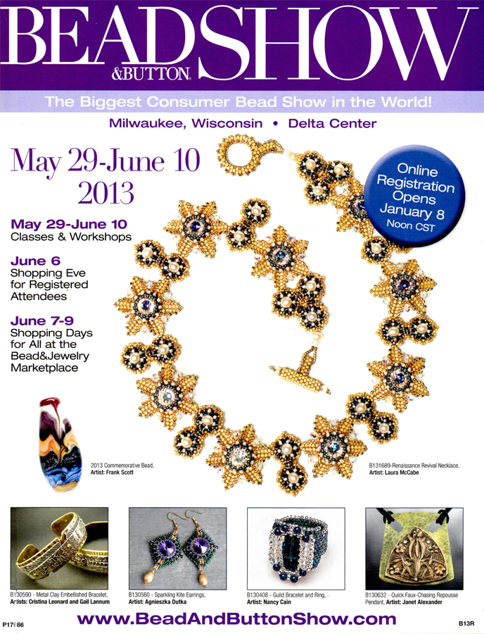 2013 Bead & Button Show catalog