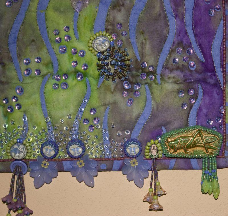 Midsummer Convocation (detail--lower right)