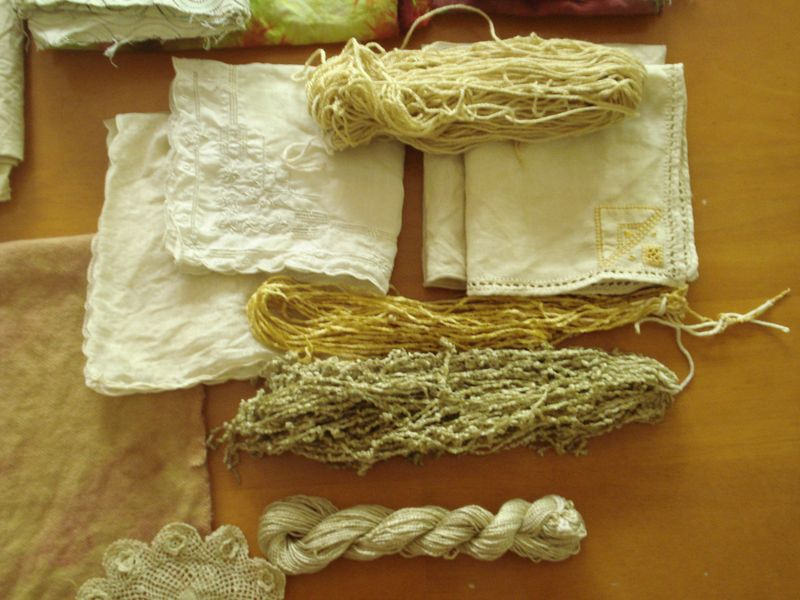 Linens and yarns after