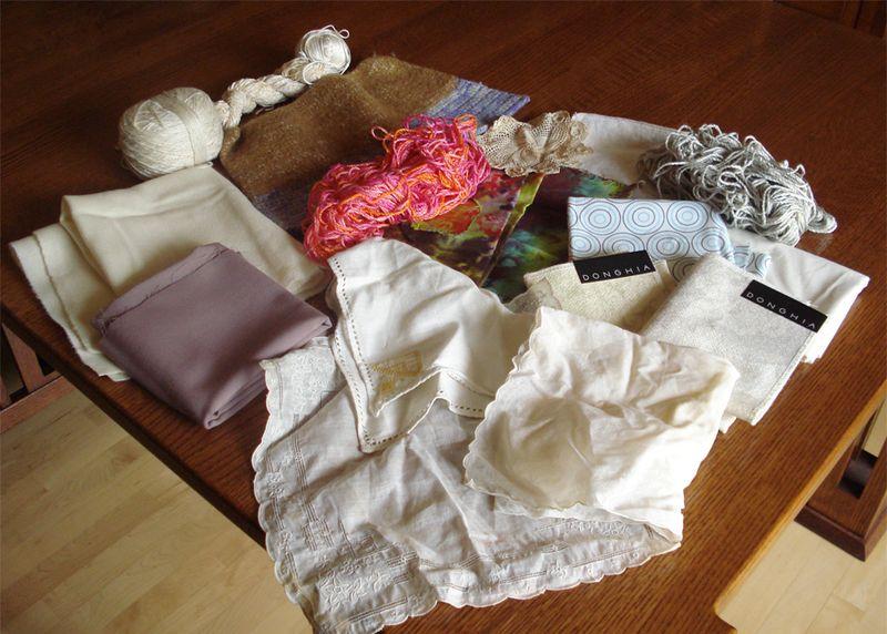 Fabric and yarn to dye or overdye 051813