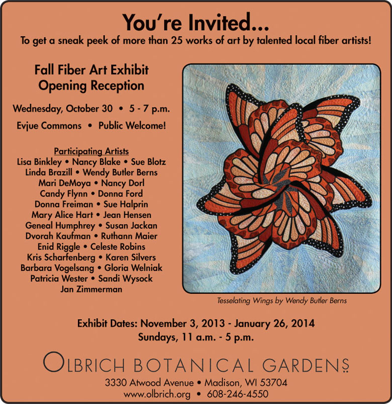 Olbrich 2013 invitation