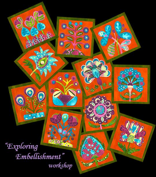 Exploring Embellishment promo (12 Kaufman panels)