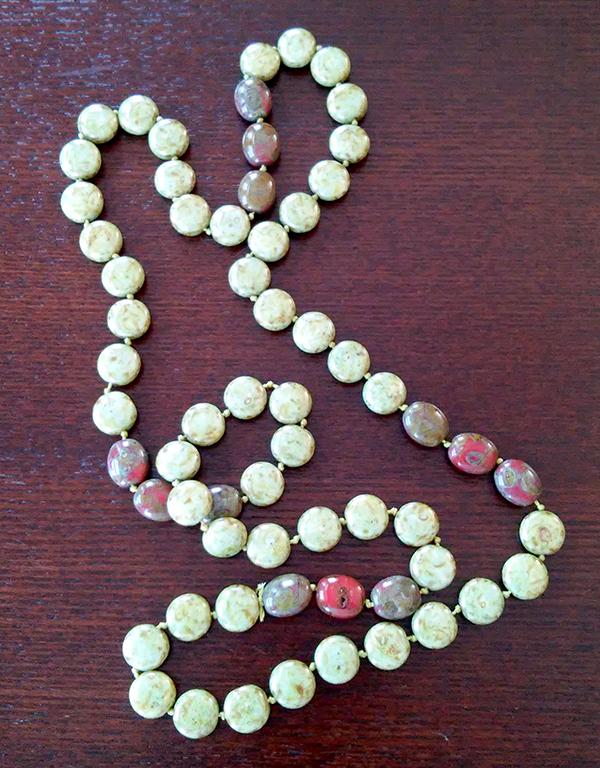 Manda's simple necklace 0215