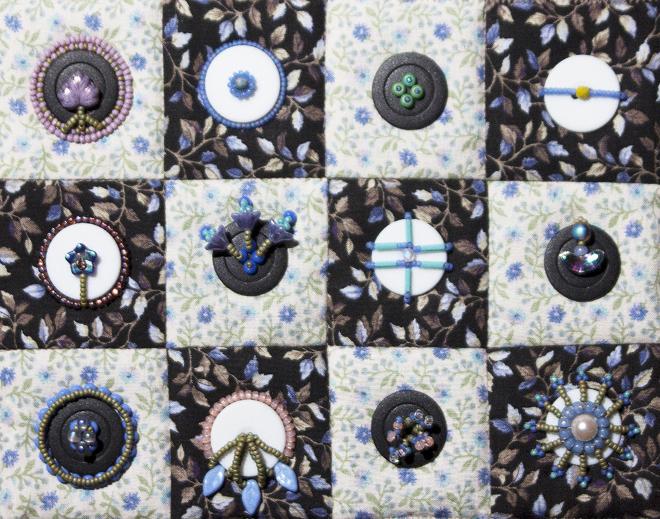 Bead & Button Embellishment workshop sampler