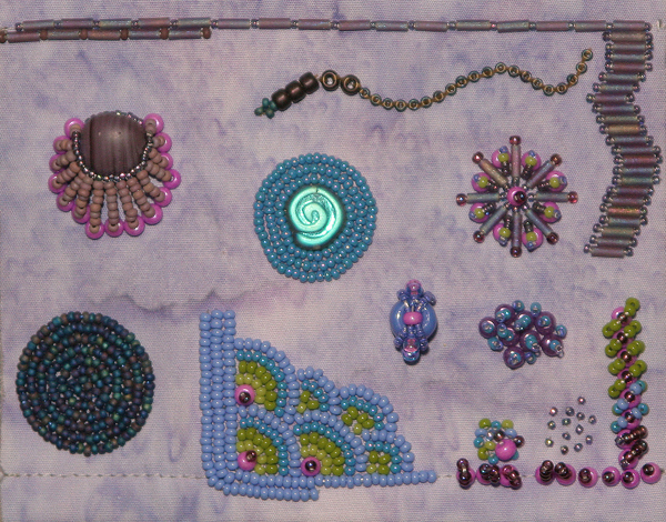 011213 Beginning Bead Emb. workshop sample
