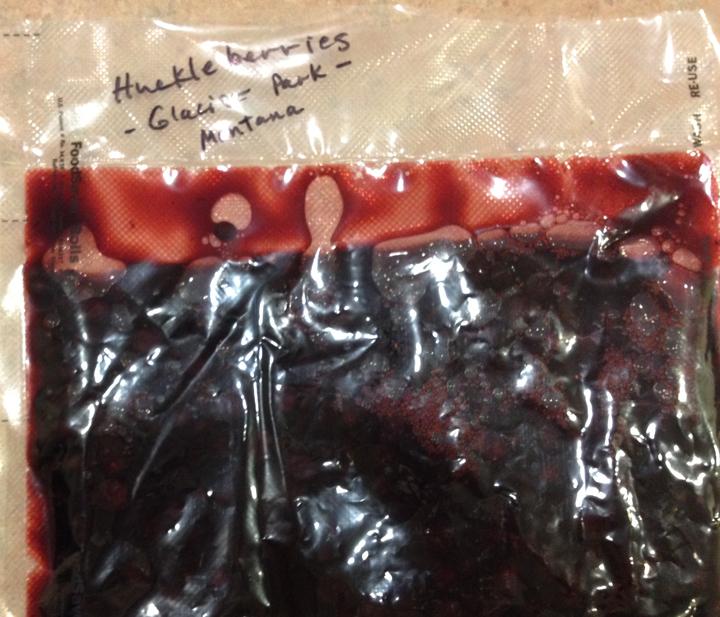 29--MT14 huckleberries in bag