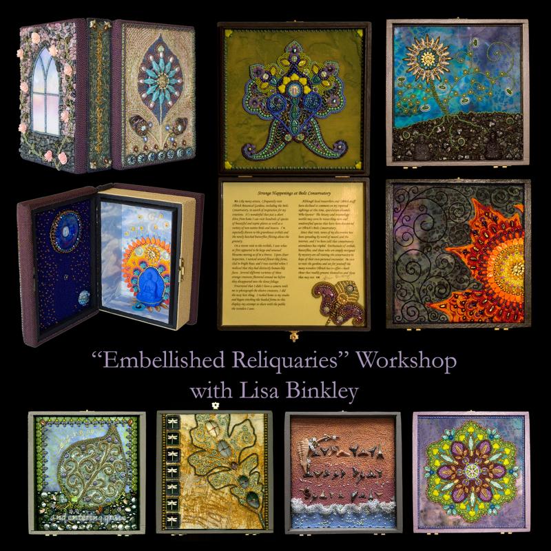 Embellished Reliquaries--promo poster